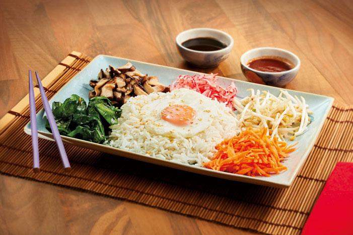 Korean Veg Rice Bowl