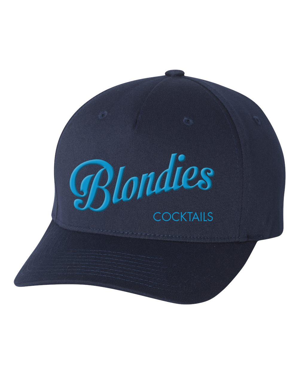 Navy Flexfit Embroidered Hat