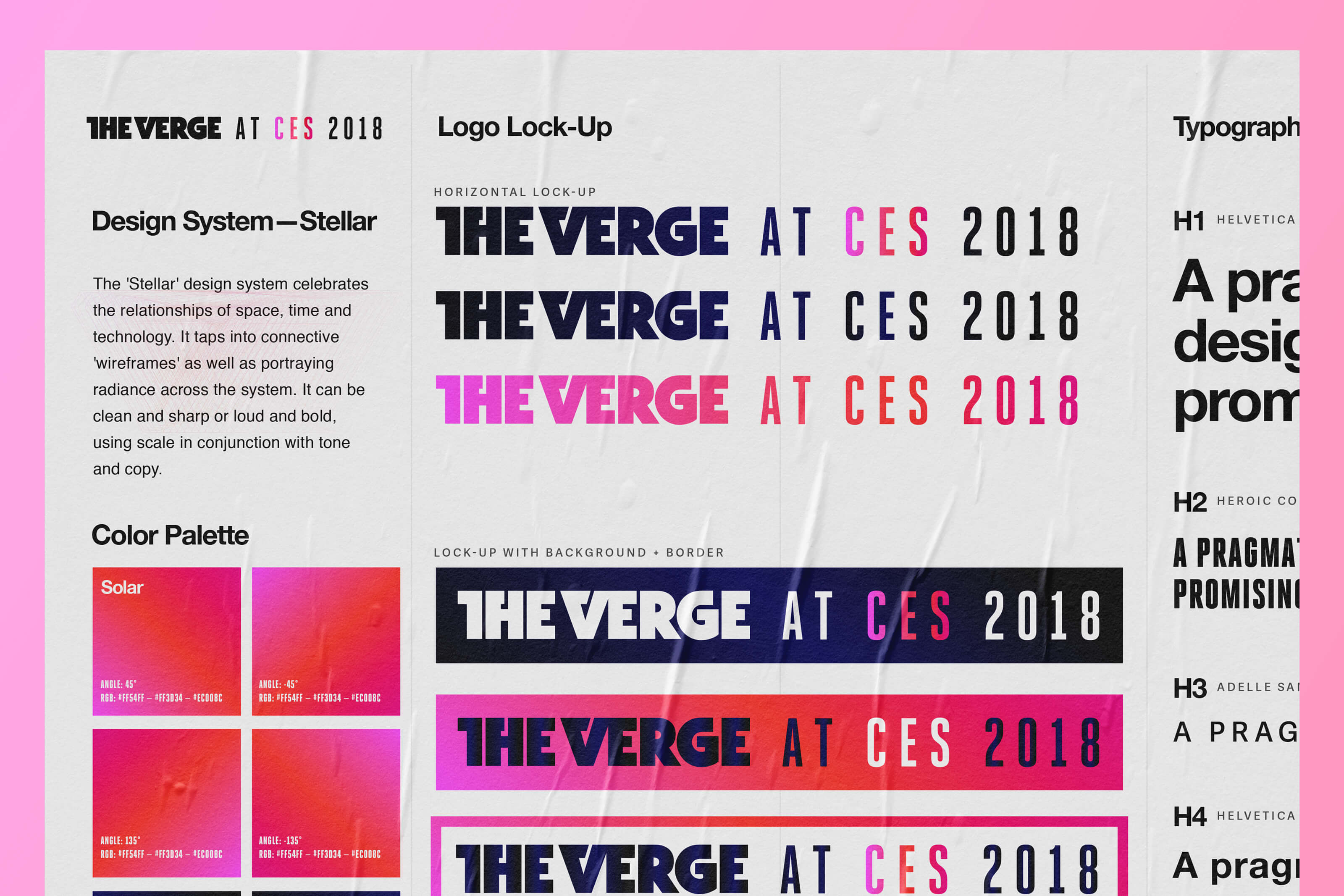 The Verge design system