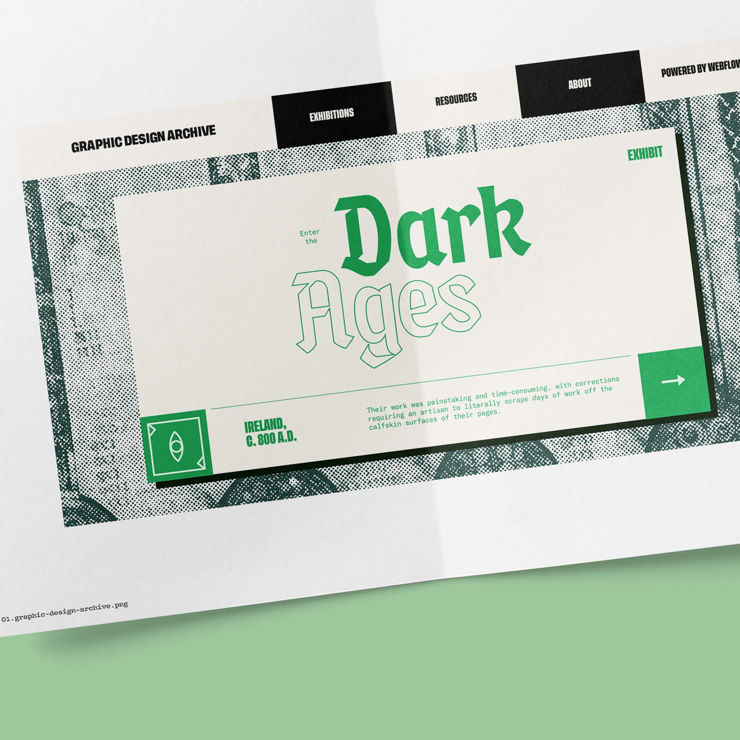 Dark ages concept.