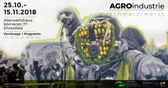 Flyer Ausstellung AGROindustrie