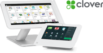 Image of Clover POS terminal running My Rewards loyalty marketing program for Clover & Poynt POS