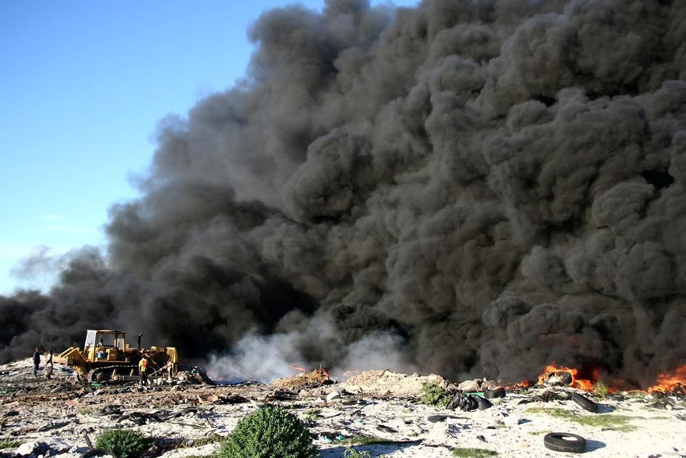 Heavy Equipment Fires