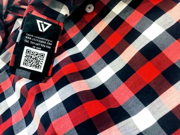 red and black plaid charles vane shirt