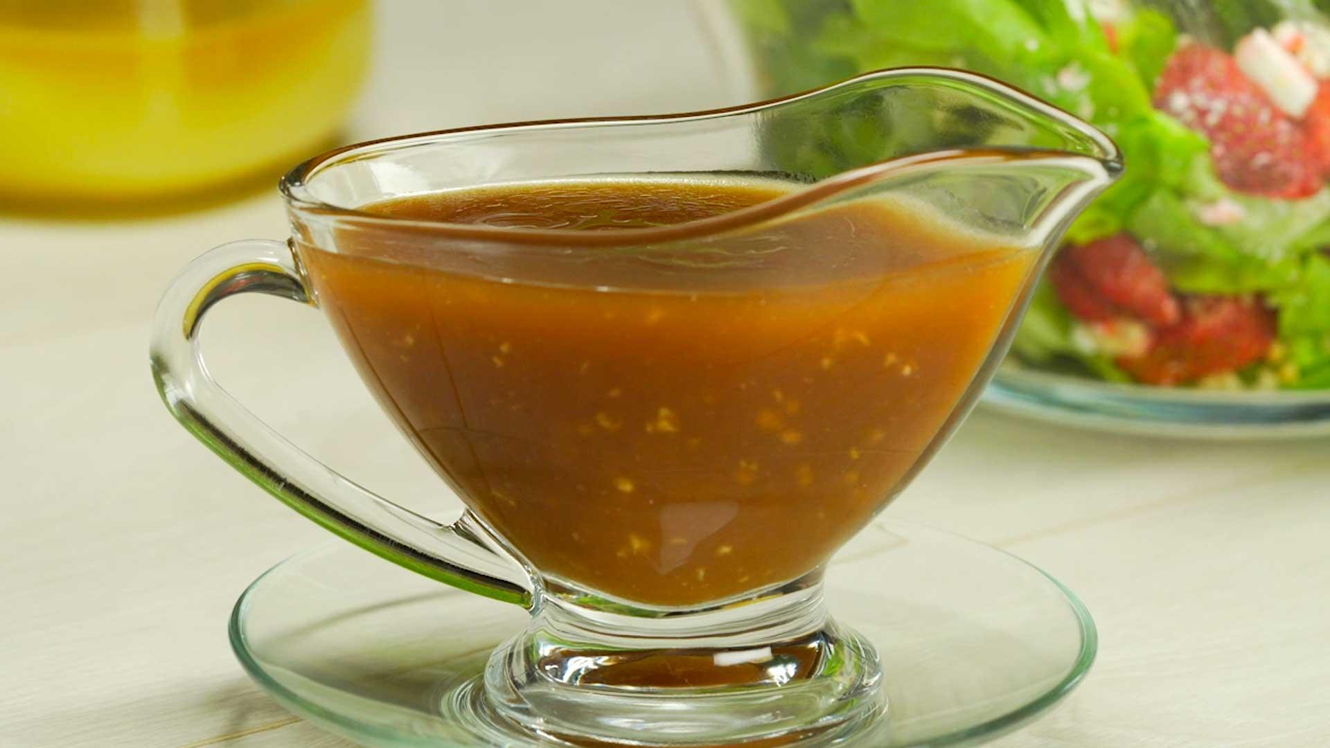 Оригинальный соус для овощного салата