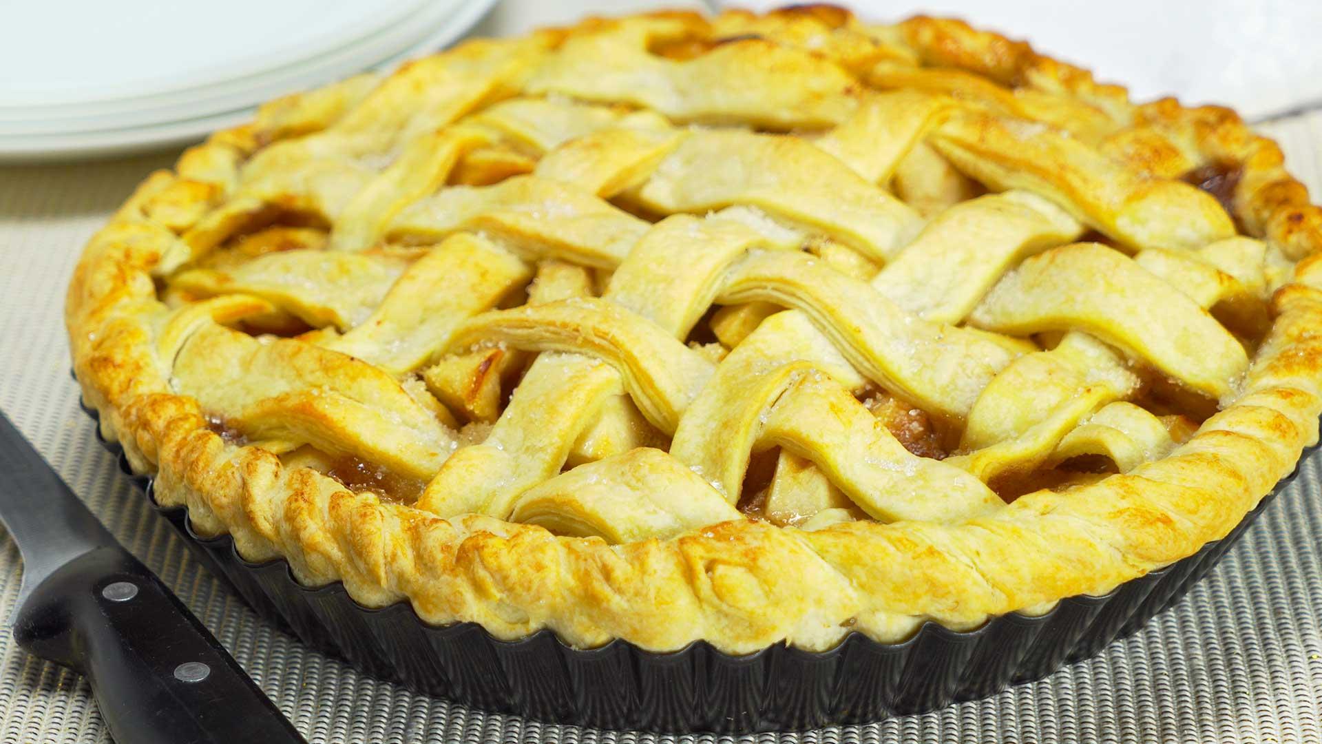 Вкусныйяблочный пирог