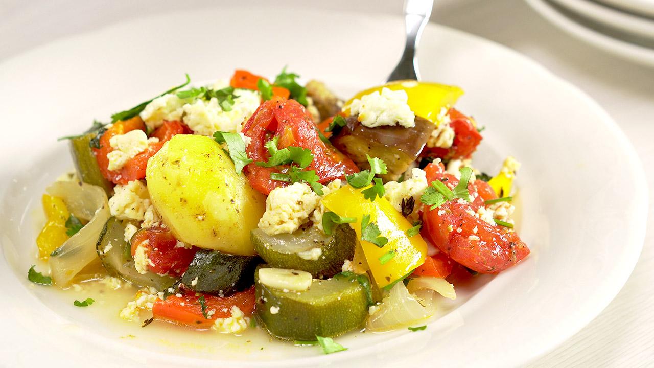 Бриам. Греческое рагу из овощей