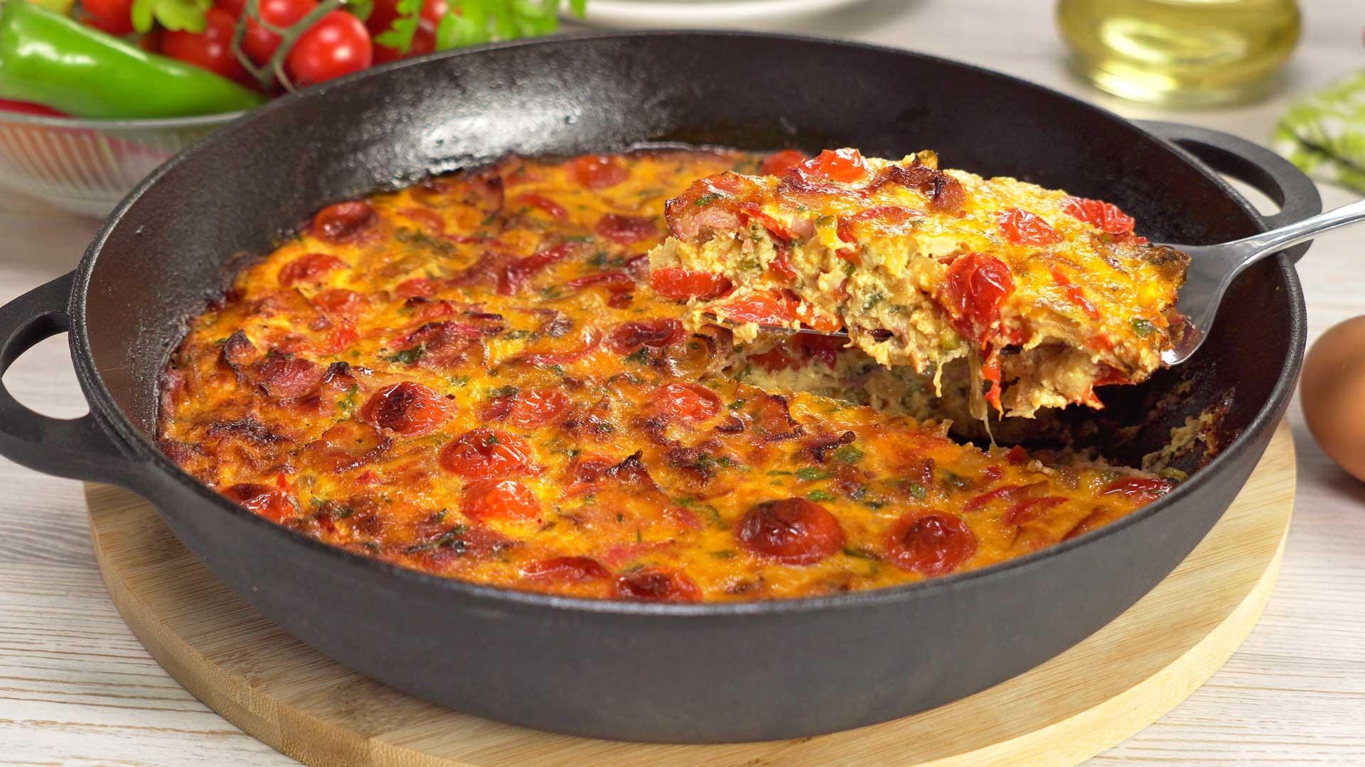 Фриттата / Frittata Итальянская кухня