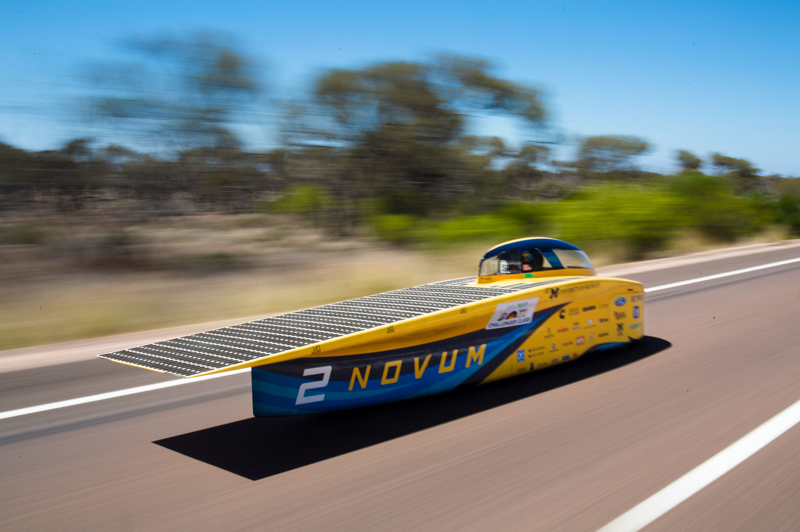 Novums, The University of Michigan Solar car.
