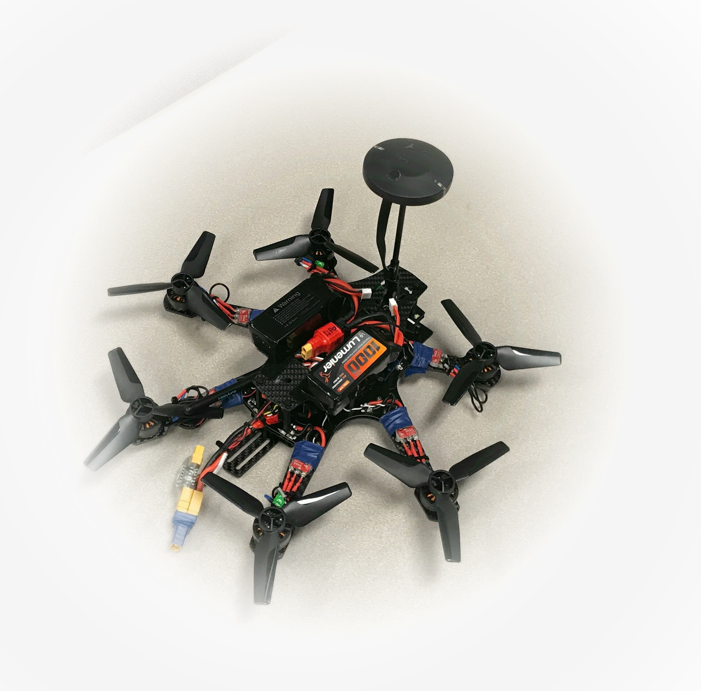 very fast hexacopter