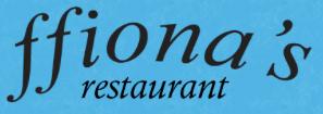 B&E Client - ffionas restaurant Logo