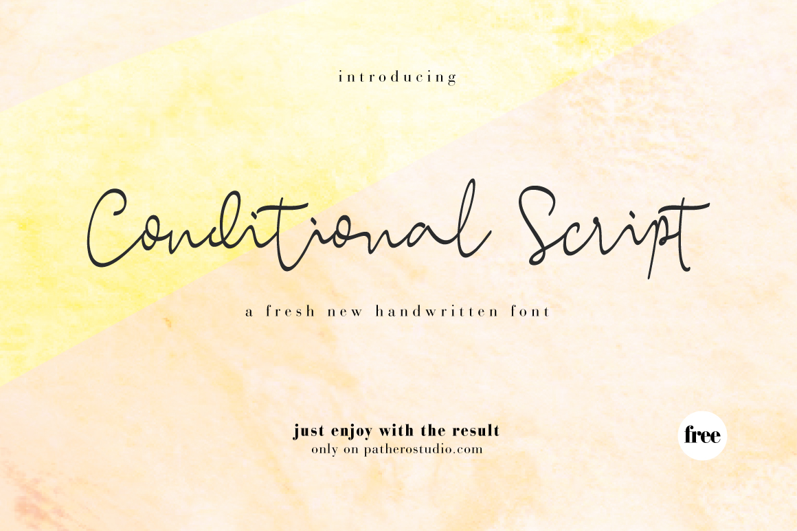 Happy To You All A Stylish Fresh New Handwritten Script Welcome Conditional Font Was Created Look As Close Natural