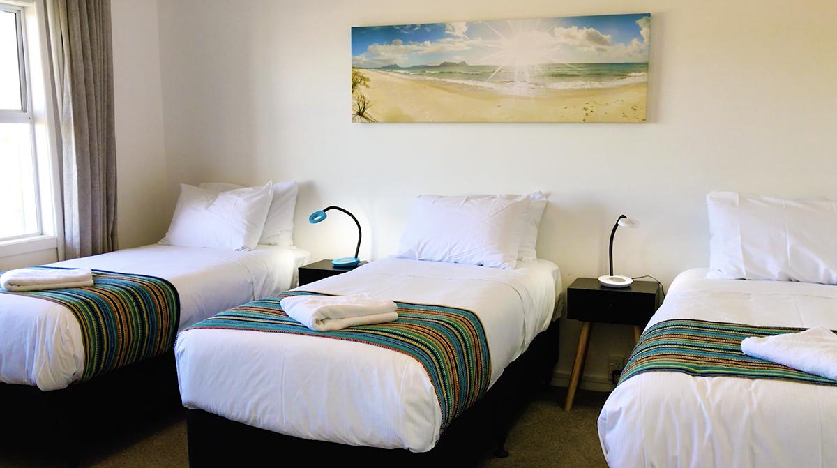 Ruakaka Beach Front Motel two-bedroom premium unit