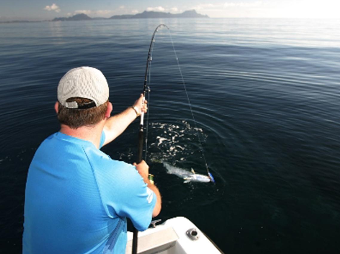 Fishing at Ruakaka Beach