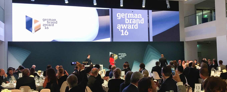 Die Preisverleihung des German Brand Award 2016