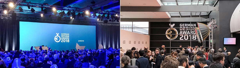 Impressionen des German Design Award 2018