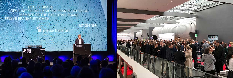 Impressionen der German Design Award 2019 Veranstalltung