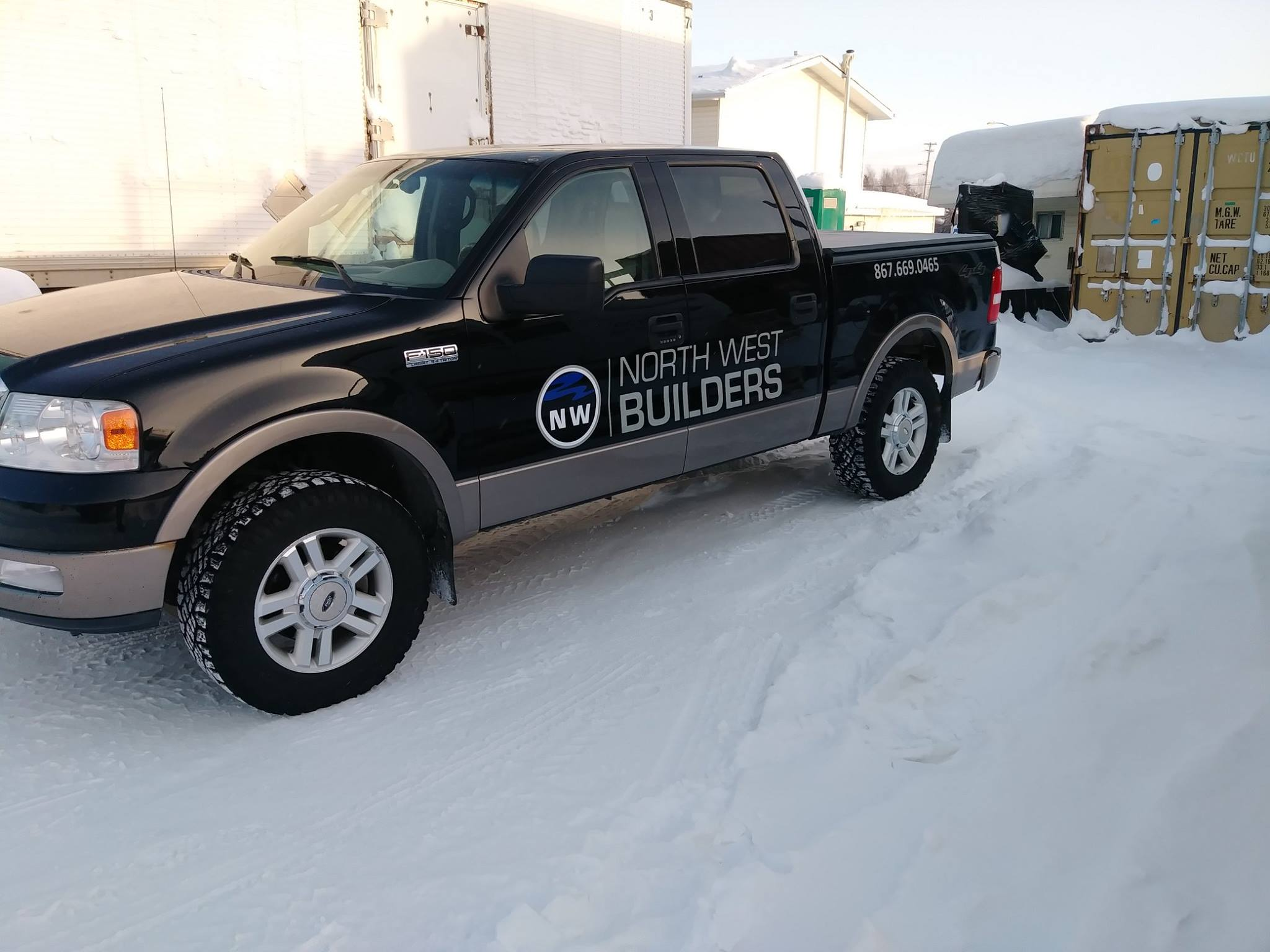 With various types of decal sizes, numbers and logos.We are able to create custom solutions for your fleet and have a indoor shop so winter temperatures aren't a problem.