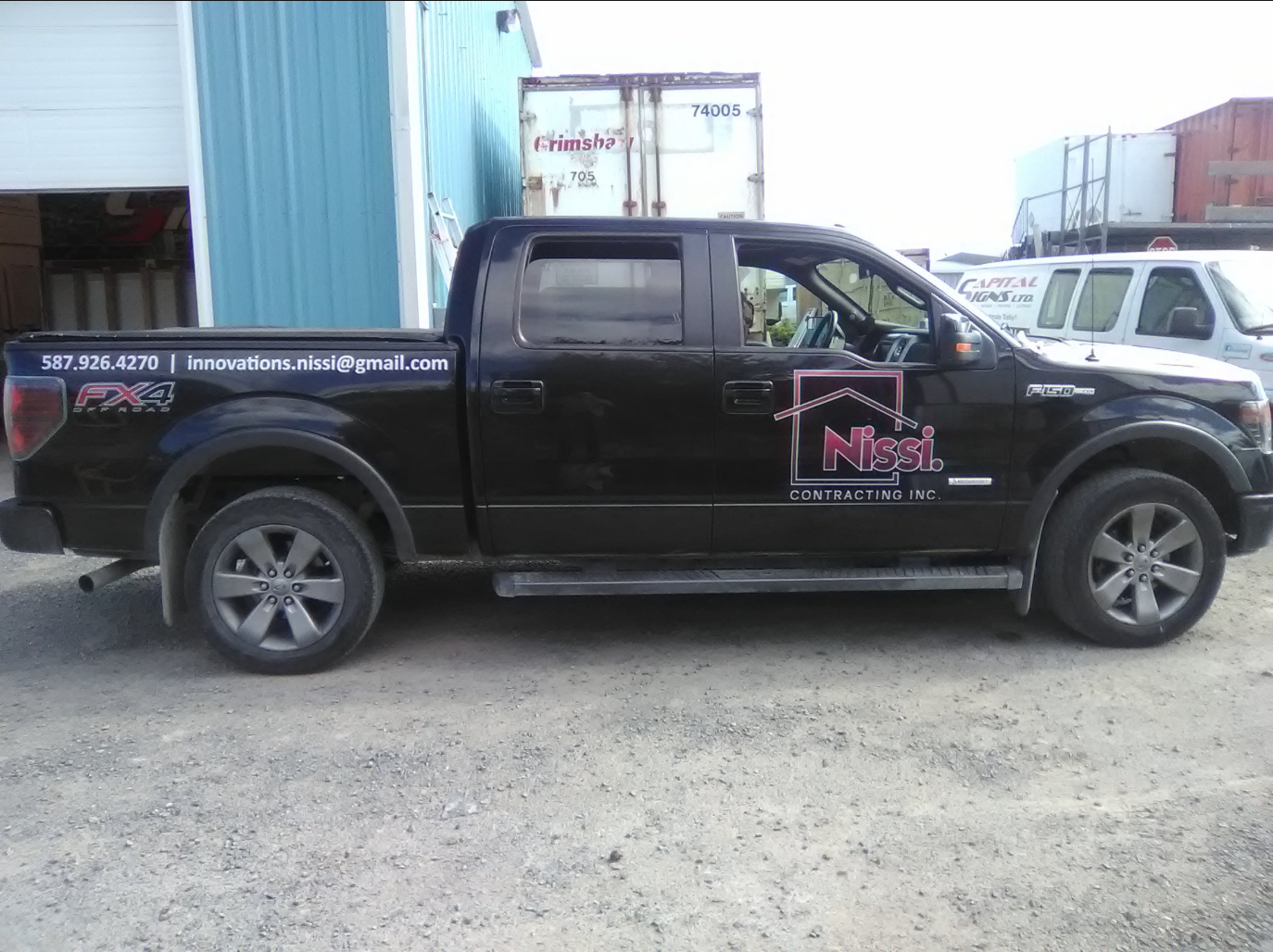 Nissi Contracting Inc. Commercial Fleet Decals