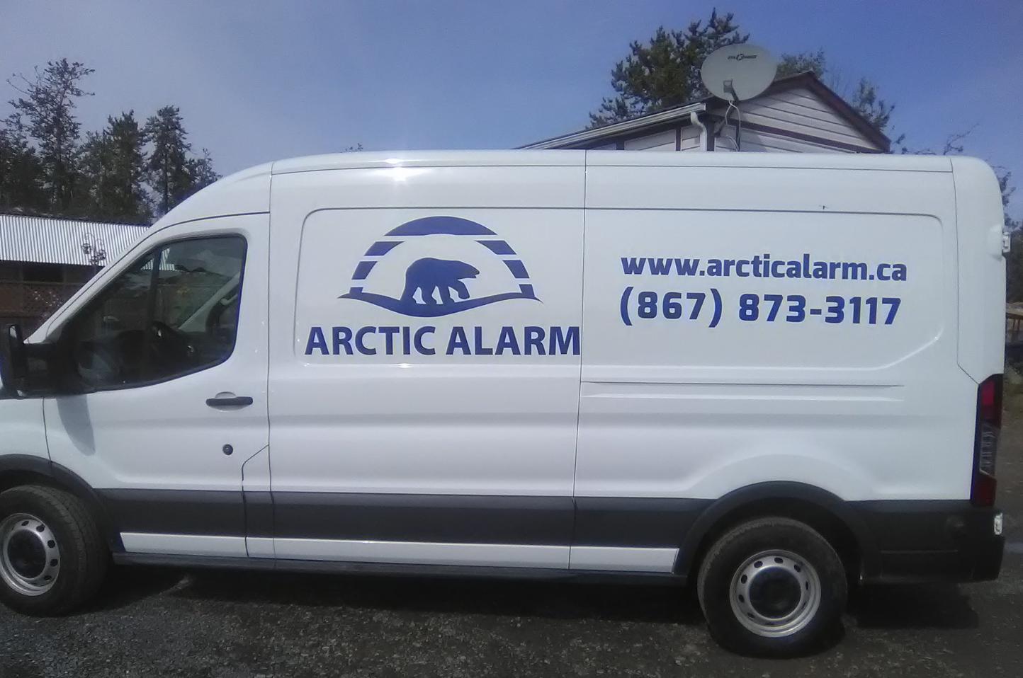 Arctic Alarm Commercial Vehicle Decals