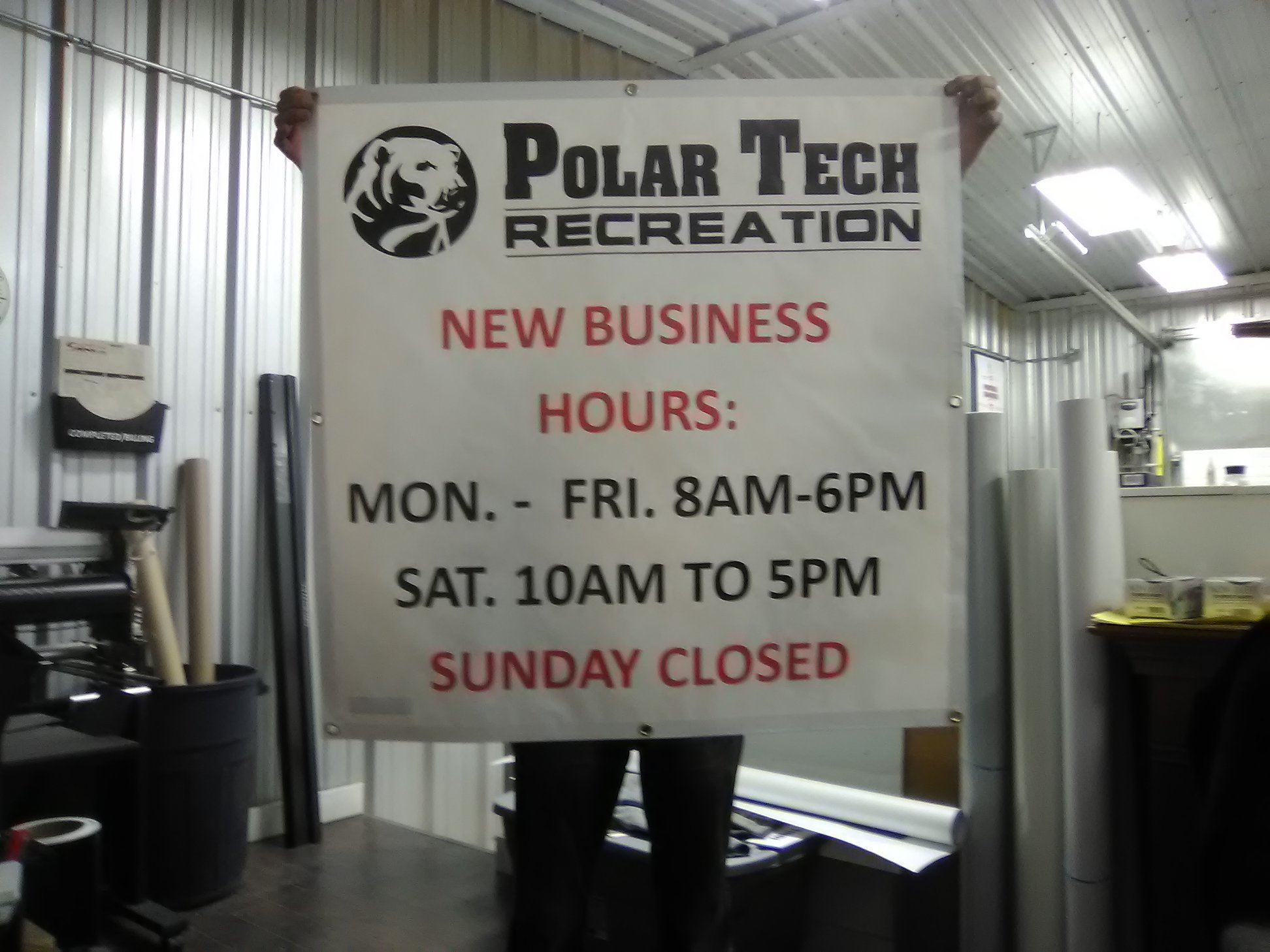 Polar Tech Recreation Banner