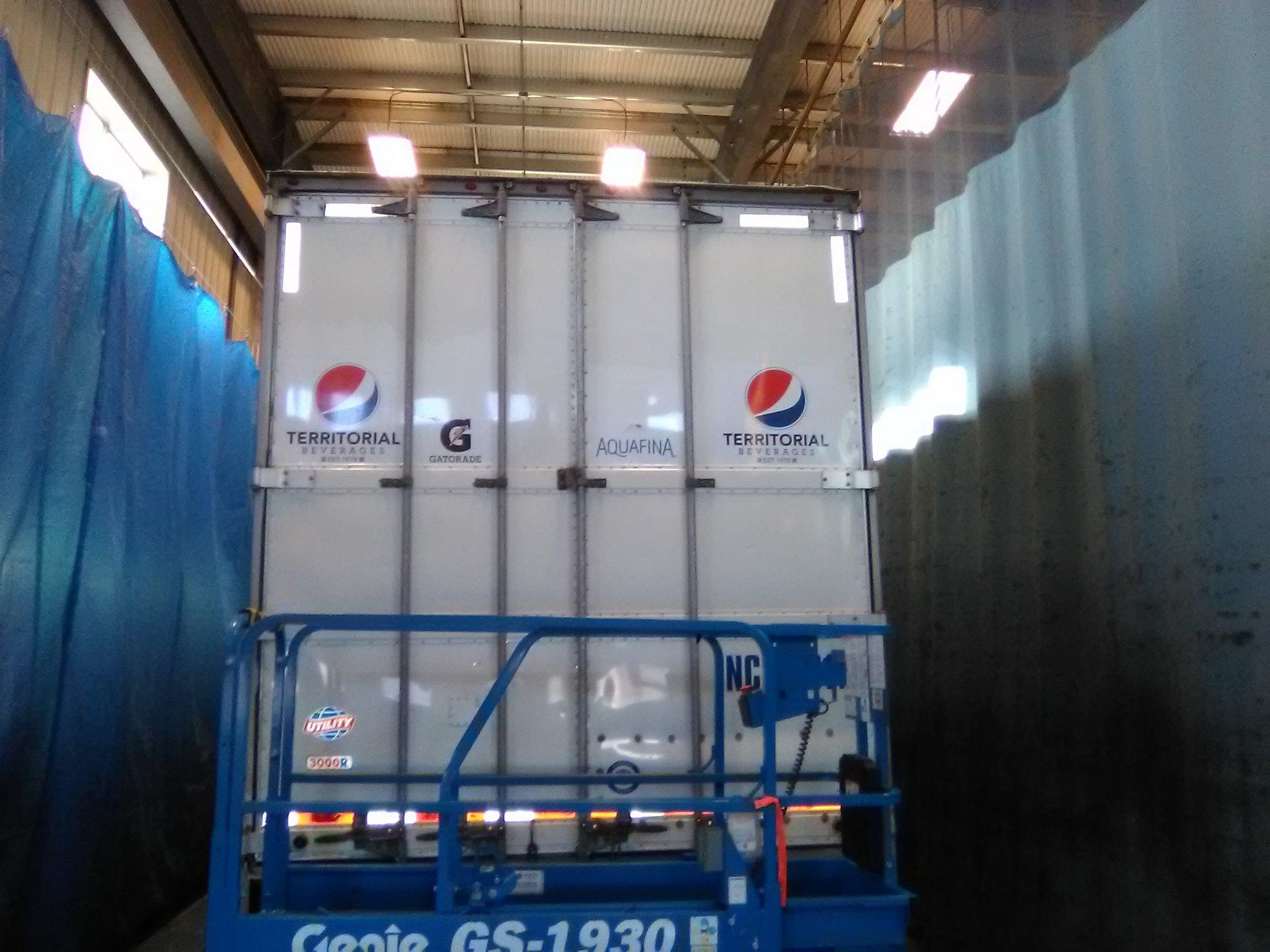 Pepsi Commercial Semi-Truck Fleet Decals