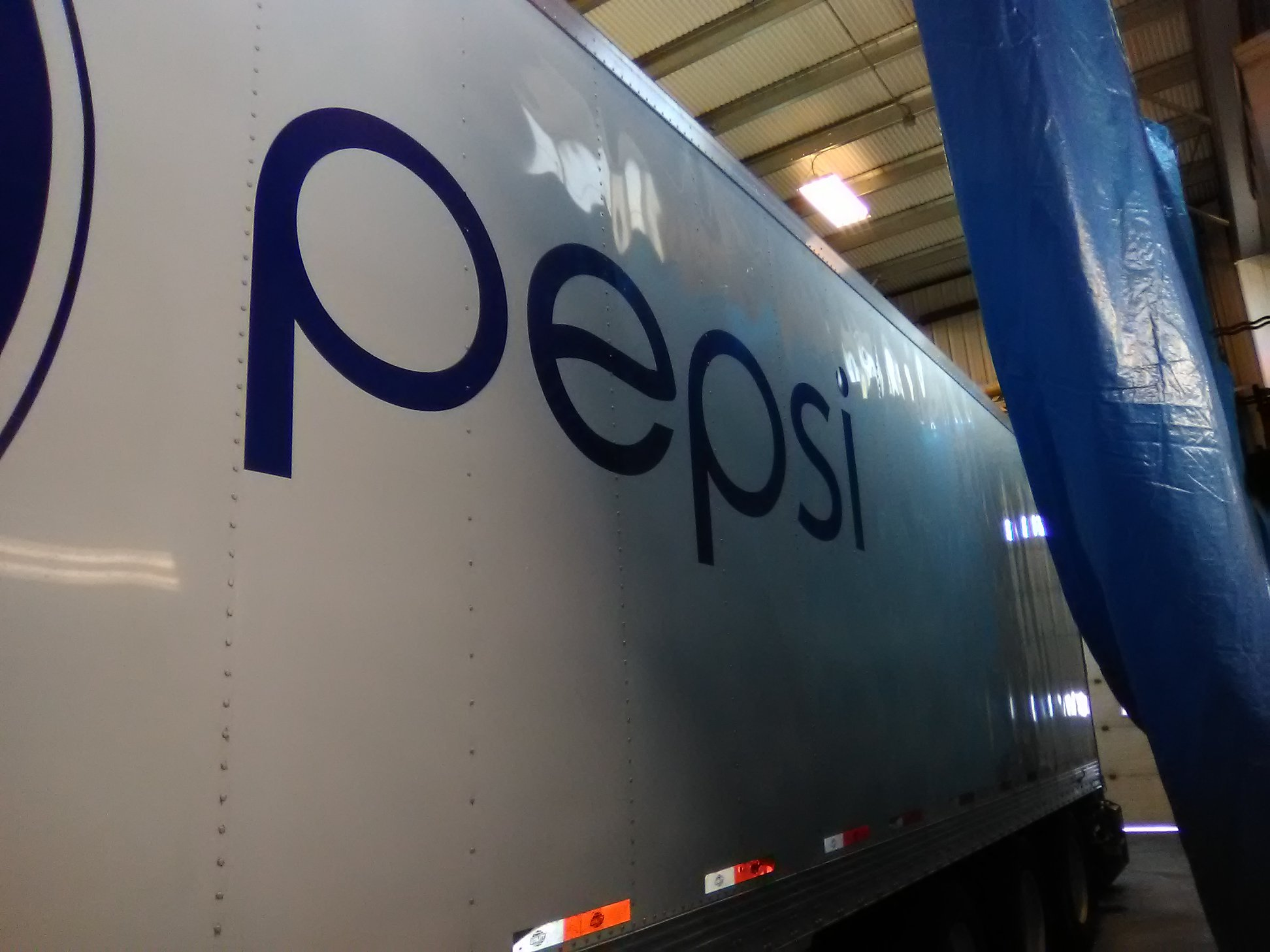 Pepsi Commercial Semi-Truck Fleet Decals