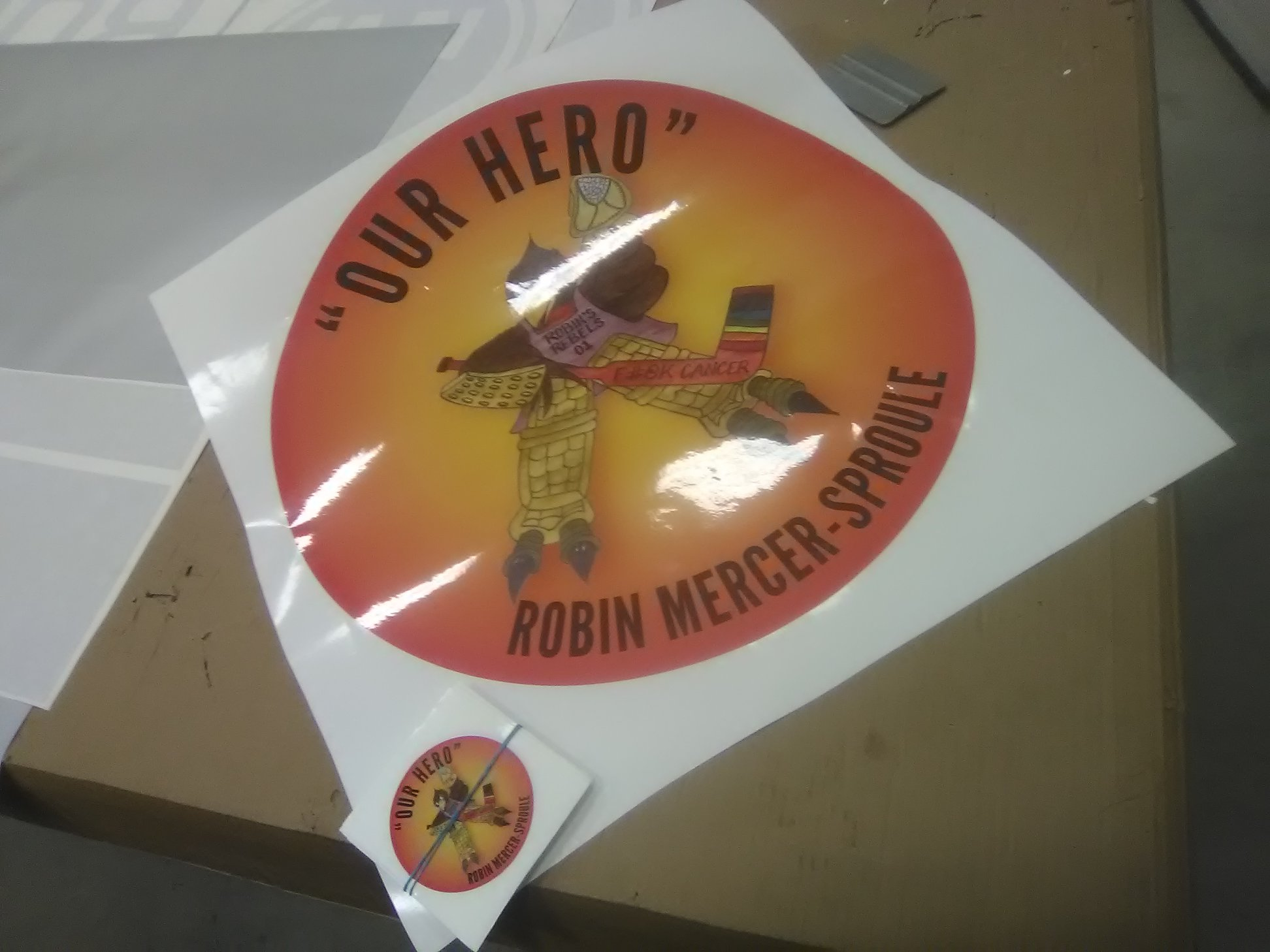 Our Hero Stickers