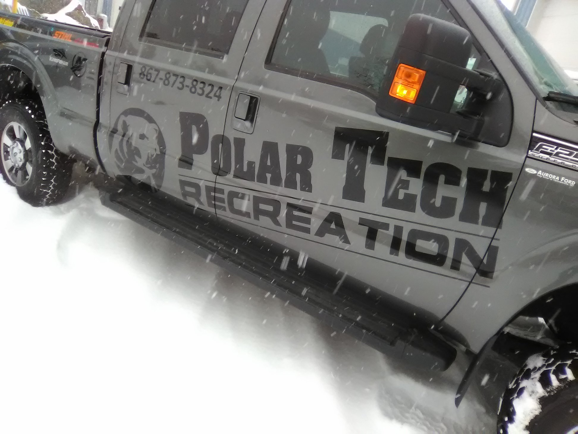 Polar Tech Commercial Vehicle Wrap
