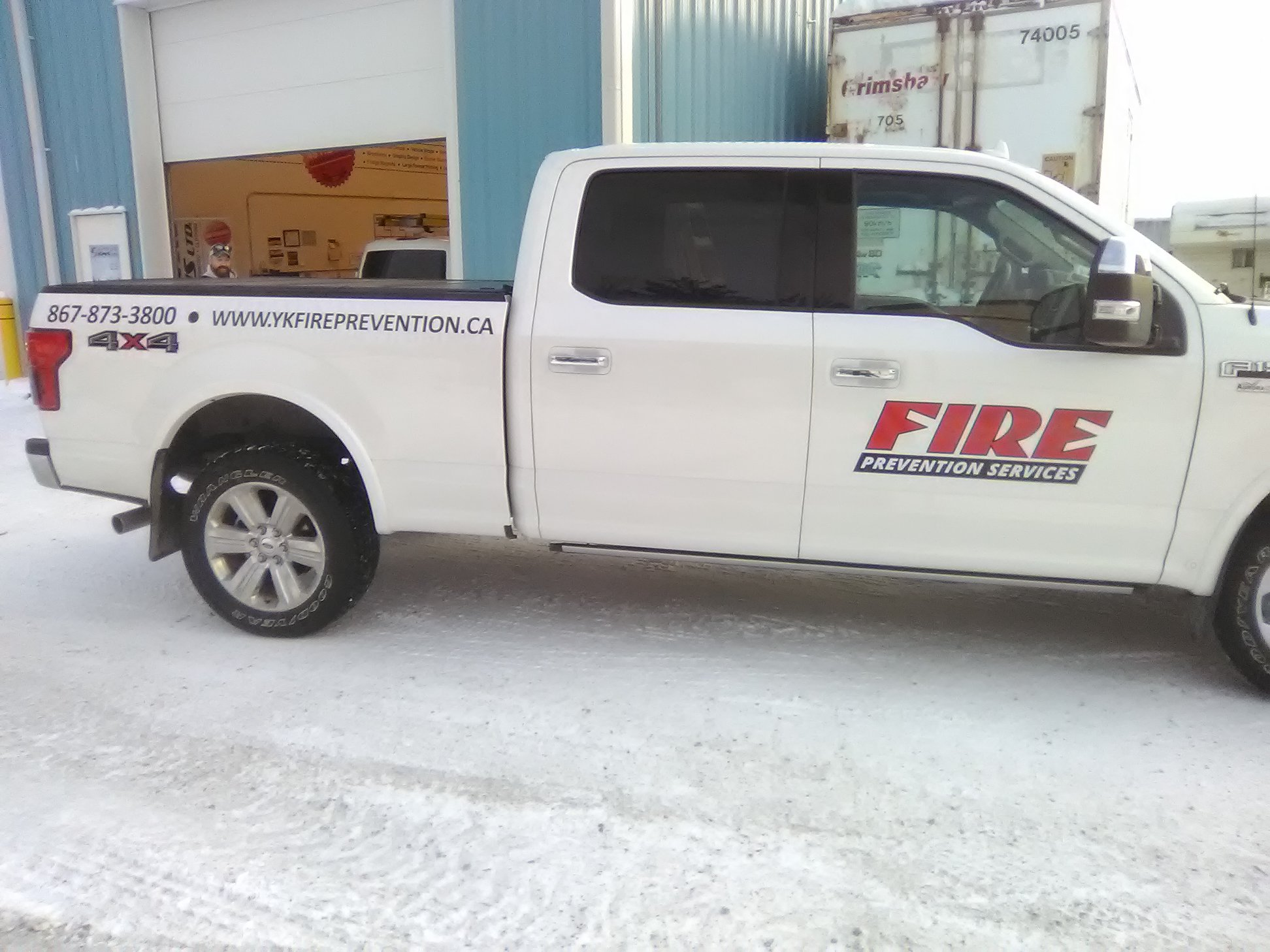 Fire Prevention Services Fleet Decals