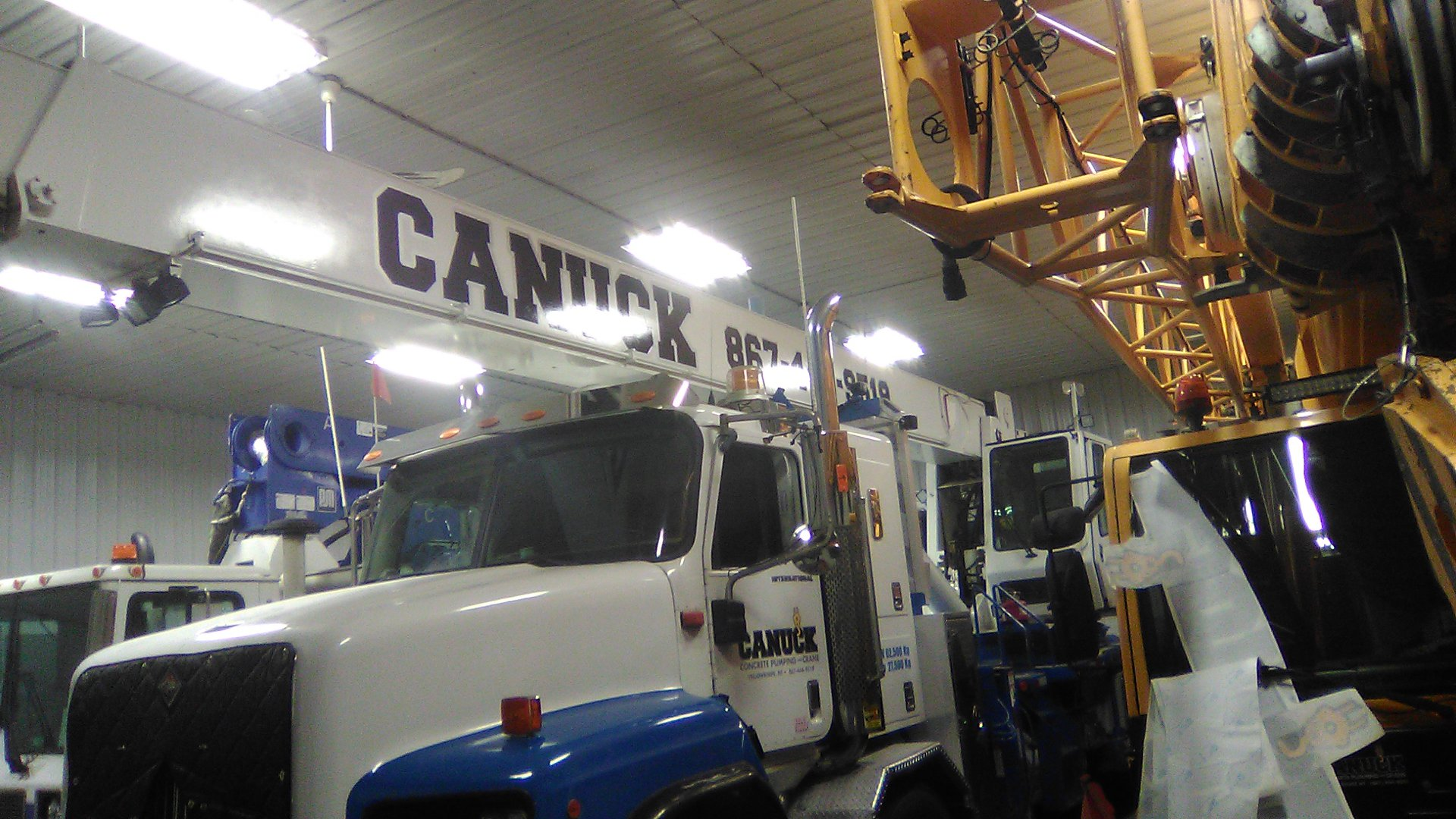 Canuck Pumping & Crane Commercial Truck Decals