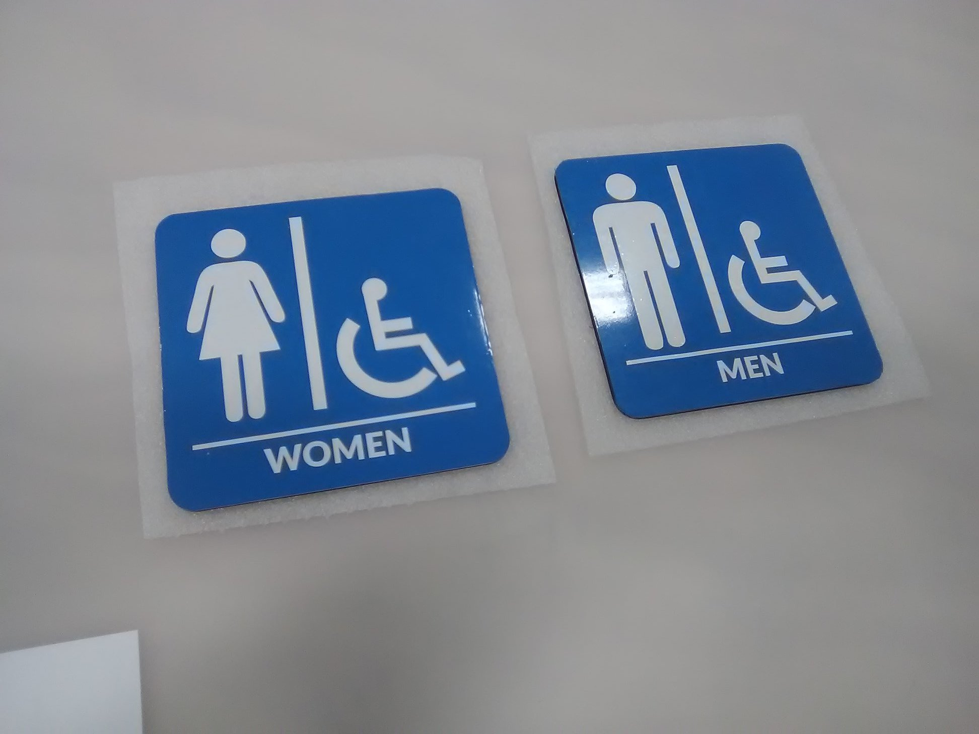 Accessible Washroom Signage