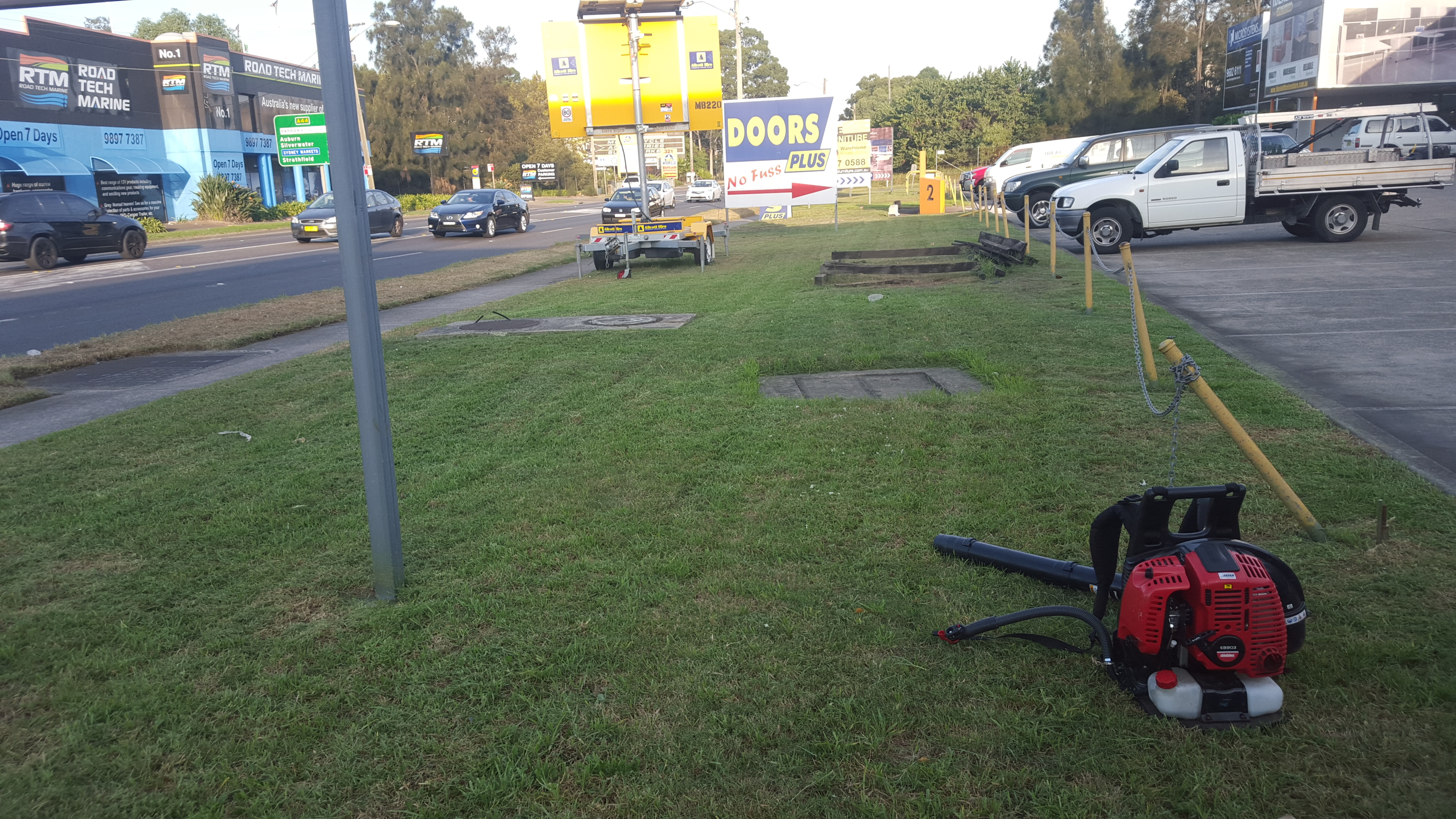 Photo of a commercial site in Granville, NSW