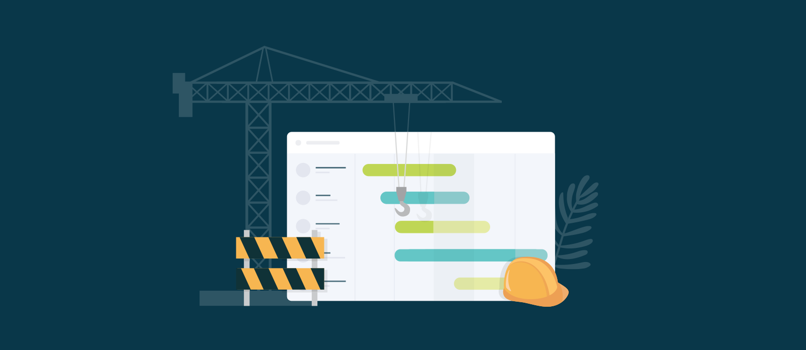 Planning A Construction Project Schedule With Gantt Chart