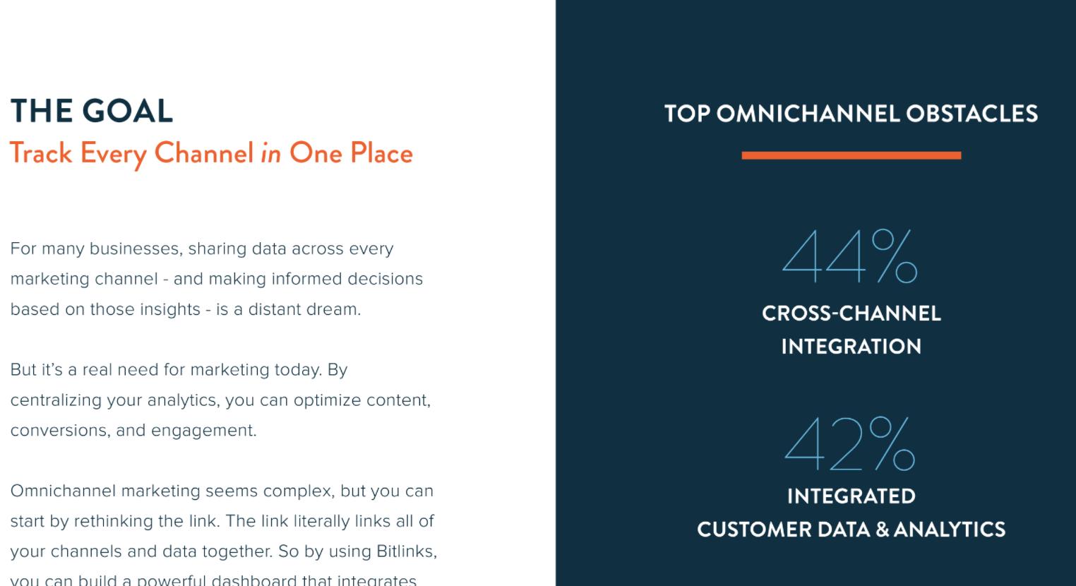 Bitly screenshot: Client Case Studies