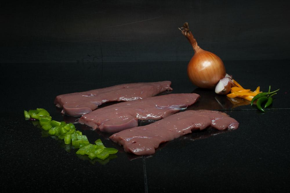 Sliced Calves Liver