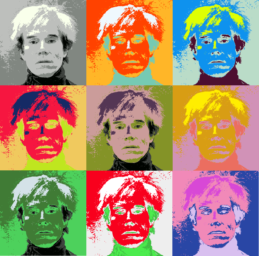 andy warhol art - 882×873
