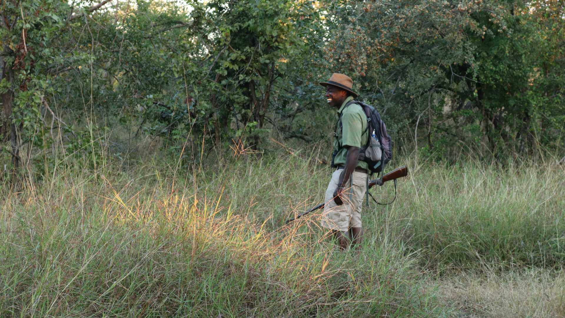 Safari guide from Imvelo, Hwange National Park, Zimbabwe