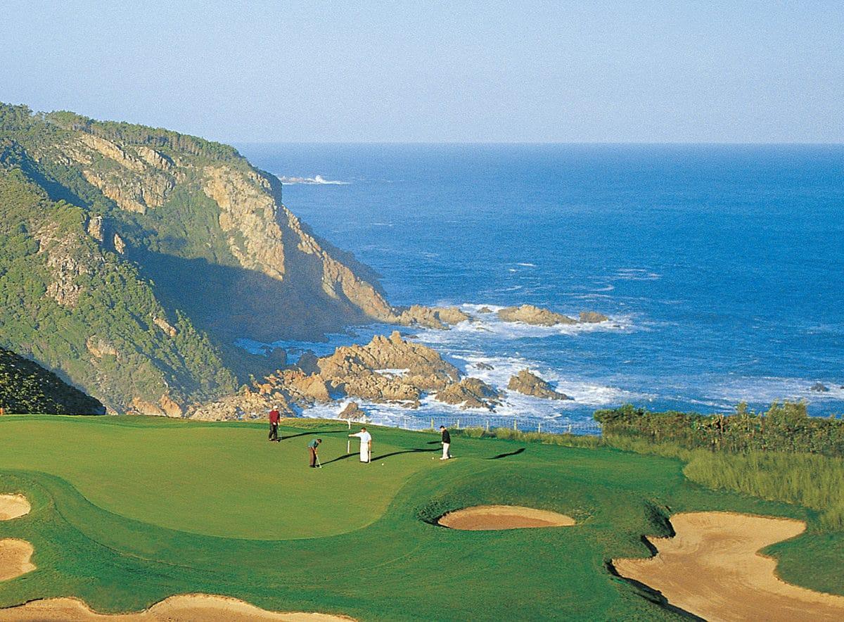 KNYSNA - Der Pezula Golf Course gehört zu den anspruchsvollsten in Südafrika.