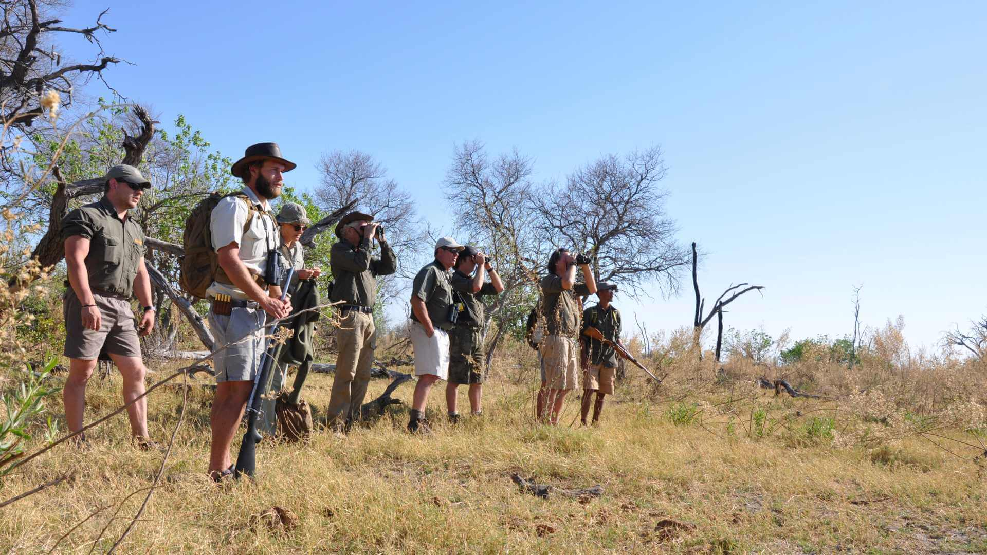 Ranger Training: Your basic wildlife course in Botswana