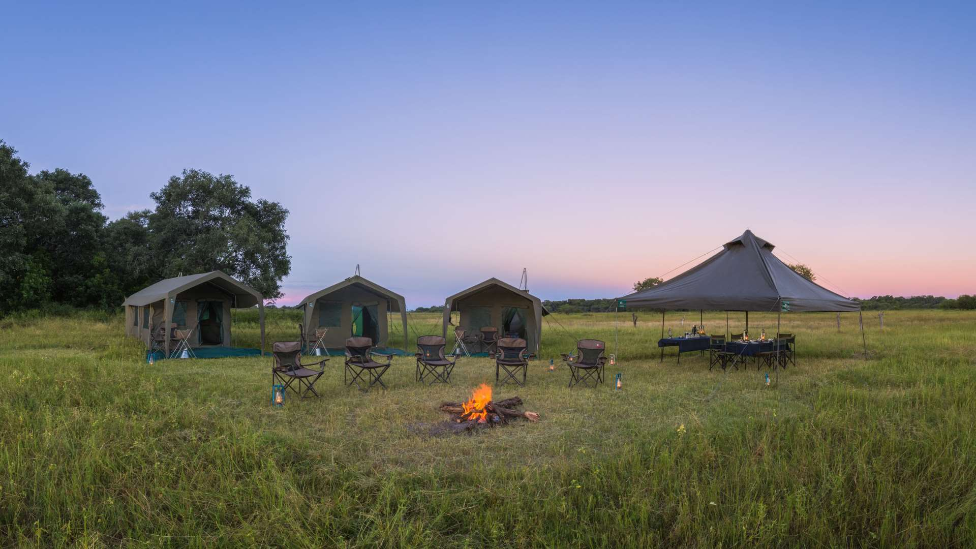 Camping Safari Botswana | Mobile Safari in Okavango Delta and Moremi NP