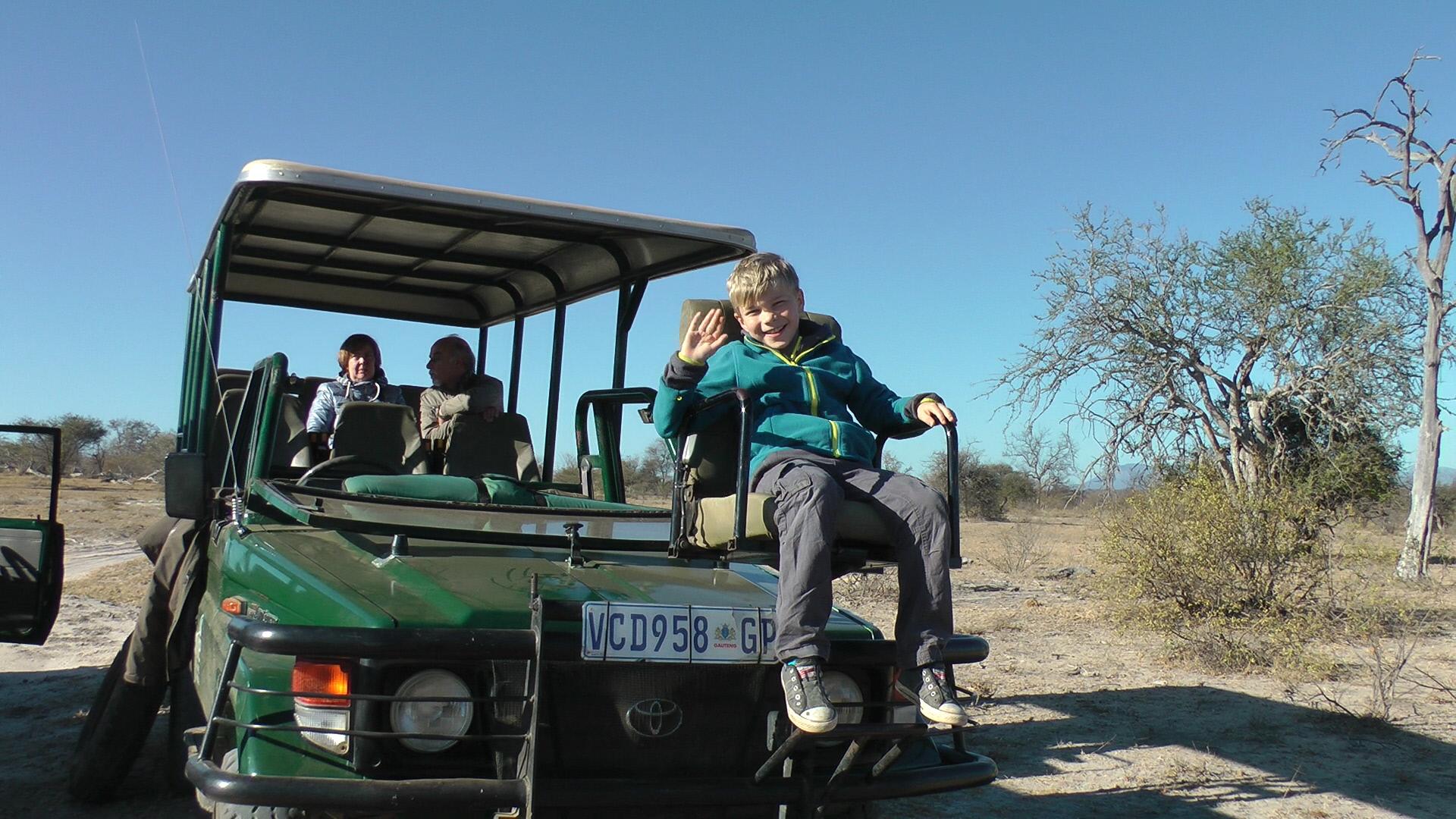 Safari mit Kindern ist immer etwas besonderes