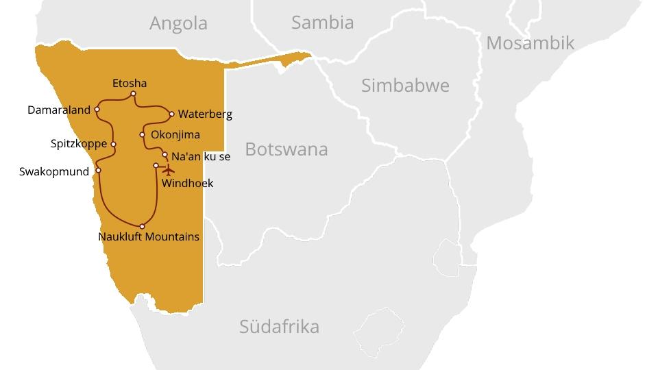 Amazingly Active Namibia