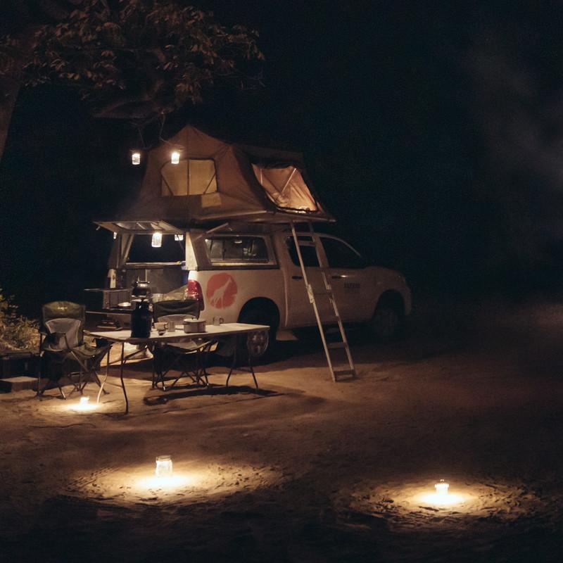 Sonnenglas Camper
