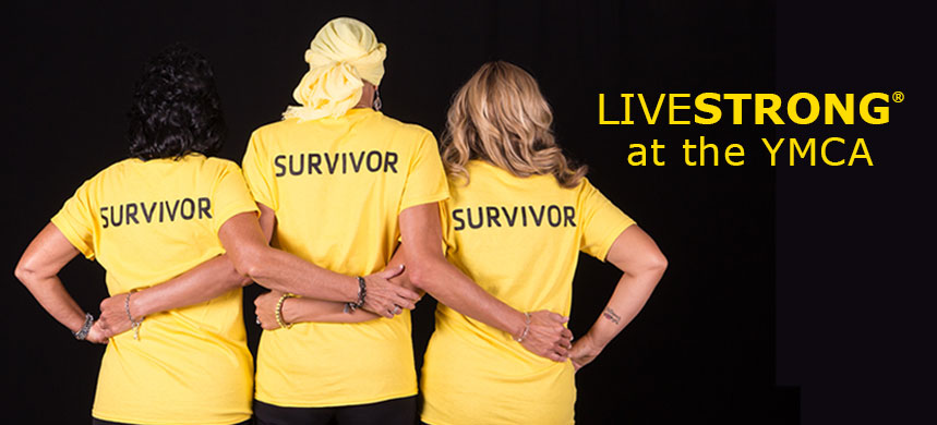 Cancer survivors with arms linked