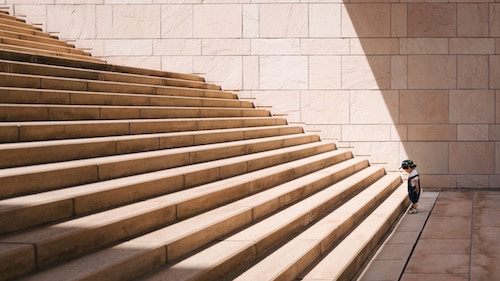 We can help you get up those stairs.  CALL TODAY!