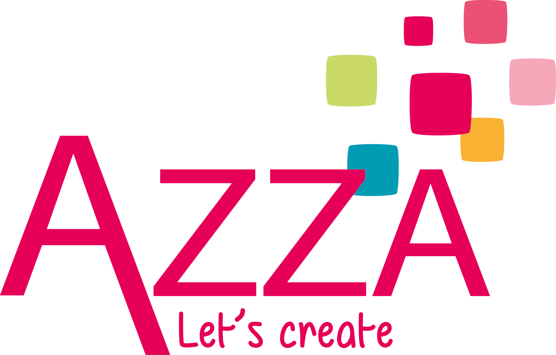 azza logo in footer