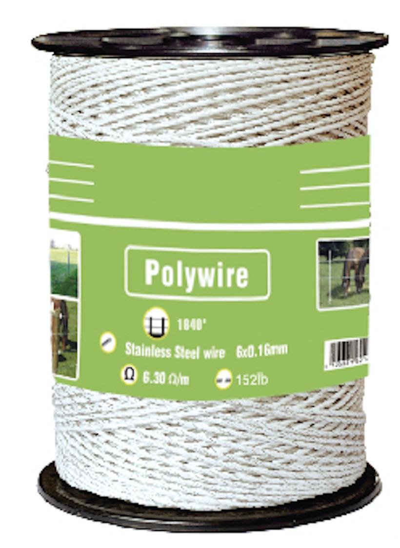 White Polywire