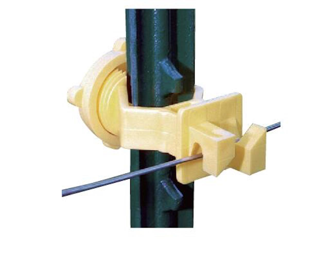 Screw-on T-Post Insulator