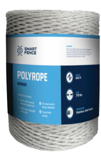 White PP Polyrope